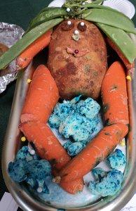Potato Bathtime