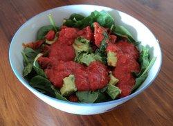 capsicum, sundried tomato, marjoram and thyme dressing