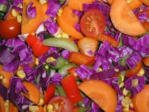 vegetable salad photo