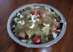 raw tomato lime sage and oregano salad dressing