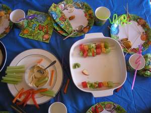finger foods for kids parties after
