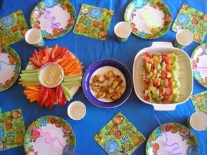 finger foods for kids parties before
