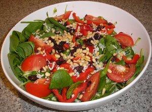 fresh spinach salad recipes