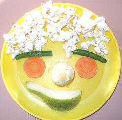 popcorn face