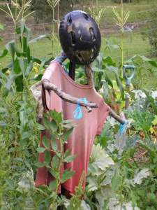 garden activities for kids scarecrow