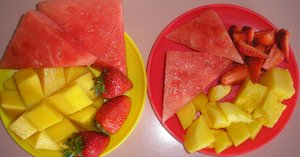 healthy fruit snack