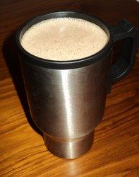 raw macadamia coffee